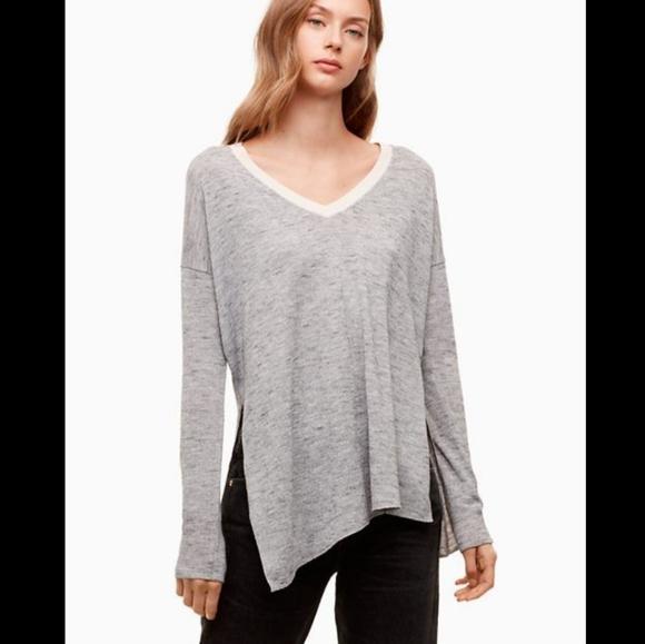 Aritzia Wilfred Sherbrooke Oversized Top Size XS